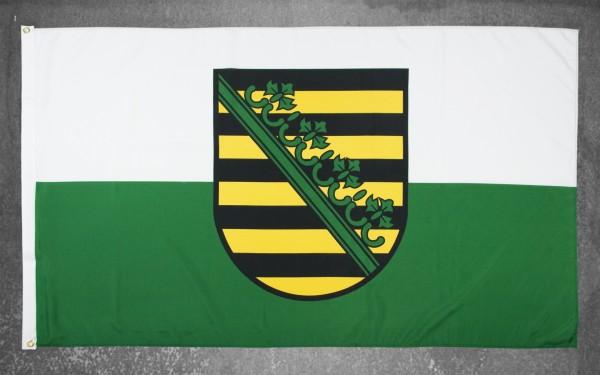 Fahne groß SACHSEN